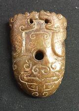 Archaic jade decoration. Han/Warring States.