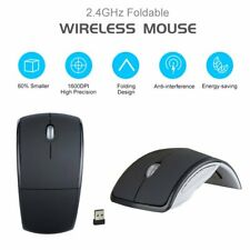 2.4G Mouse Arc Touch Foldable Wireless Mice for Microsoft Surface USB PC Laptop
