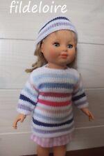 vetement poupée compatible Marie-Françoise petit Collin 40 cm mode et travaux
