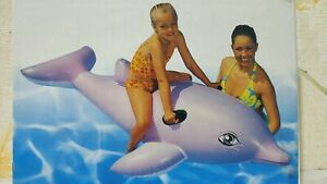 Inflatable Dolphin Ride-on by Bestway #41003 (rare, vintage)