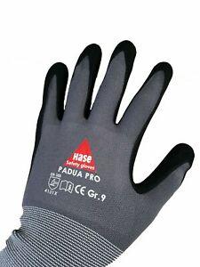 5-Finger Arbeitshandschuhe Nitril Hase Padura Pro Gr. 9 (Gr. L)