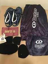 Dexter SST 6 Bowling Shoes 8.5 M With Soles And Other Items. Modified.