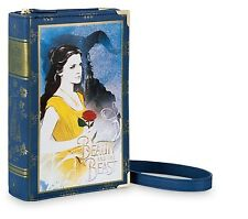 DISNEY STORE Beauty and the Beast Belle live action Handbag Bag purse tote book