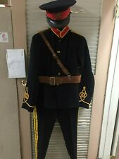 Model 1888 Great Britain Artillery Tunic / Trousers / Hat And Belt.