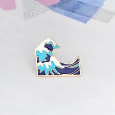 Enamel Pin Badges - Set of 1 - The Great Wave Hokusai - EB0057