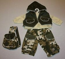 "NEW ADORA 20"" TODDLER OR NAME YOUR OWN BABY CAMPING FUN OUTFIT"