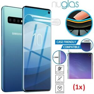 NUGLAS Samsung Galaxy Note 20 S20 S10 Plus Ultra S10 S9 S8 Full Screen Protector