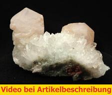 7723 Calcit Quarz  ca 6*11*5 cm Johanneszeche Göpfersgrün  BRD 1980 MOVIE