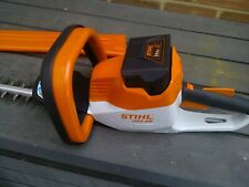 Stihl HSA 56 Cordless Hedgecutter with Battery and Charger Included used