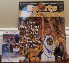 Stephen Curry Autographed Signed 8x10 Photo Golden State Warriors JSA COA
