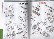 5GJ-11417-10 Cuscinetto piano 2 nero Yamaha T-Max 500 Iniez. 5VU 04/07
