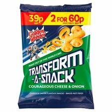 Golden Wonder Transform-A-Snack Courageous Cheese & Onion (30g x 30)