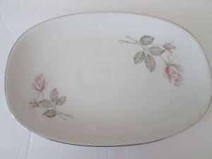 Vintage HUTSCHENREUTHER ARZBERG BAVARIA China  Pink Rose Platter
