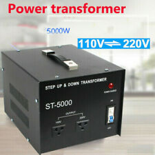 New listing Us 5000W Step Up&Down 220 to 110 Power Voltage Converter Transformer Stabilizer