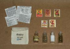 "1:6 scale WW II German Cook's ""SPICE SET"" with storage sack, recipes!"
