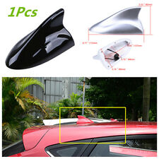 Car SUV Shark Fin Style Antenna Radio Signal Aerial With FM/AM Connection Cable