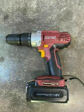 "Chicago Electric 18V Cordless Hammer Drill 1/2""  68851 1/2 13mm Chuck w/battery"