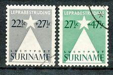 Suriname luchtpost 29 - 30 gebruikt (6)