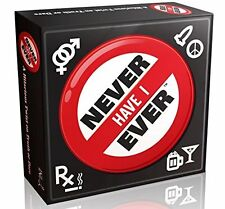 Never Have I Ever - The Classic Drinking Game for Adults - Great Game for a or