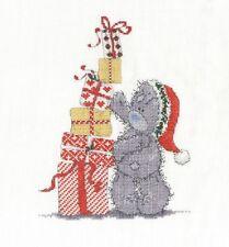 DMC Me To You Tatty Teddy Christmas Presents Cross Stitch Kit