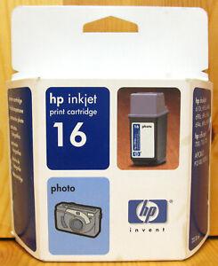 Hewlett Packard / HP 16 / HP16 Genuine Photo Cartridge. New & Sealed. C1816AE.