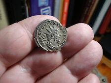 Postumus Silver Antoninianus, Hercules Reverse, Lugdunum Mint XF