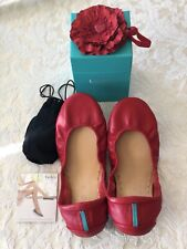 Tieks True Love Red Size 10 limited edition sold out