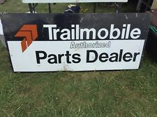 Trailmobile Authorized Parts dealer Sign Double Sided