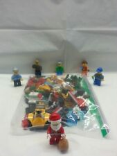 Lego City 2017 Advent Calendar 60155 All Minifigs + Parts