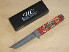 MASTERS COLLECTION ASSISTED EINHANDMESSER MIT DRACHENMOTIV NEU