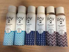 6 x Day 2 : Dry Wash Clothes Spray DELICATES, DENIM, ORIGINAL, Revives & Freshen