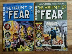 EC comics Haunt of Fear Lot Gladstone 1990 Reprints issues 1&2
