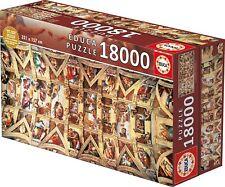 Educa 16065 Sixtina capilla Miguel Ángel 18000 piezas XXL puzzle