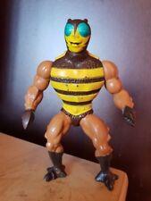 Buzz Off Amos Del Universo Figura Vintage 1983 él hombre Mattel