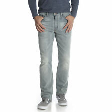 Wrangler NEW Blue Mens US Size 38X30 Classic Straight Leg Stretch Jeans $40 #100