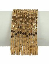 Indian Bangle Bollywood Ethnic Fashion Bracelet Set Wedding Designer Jewelry