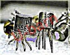 SIL/MOT 2N5565 CAN-6  MatchedN-Channel JFET Pairs