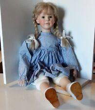 Sammlerpuppe Mädchen ca 60cm groß , blond Sammlerzustand.