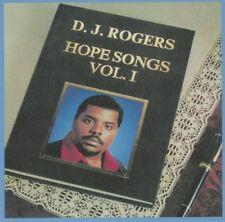 D.J. Rogers - Hope Songs Vol 1 (Audio CD - Mar 3, 2017) NEW