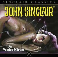 DER VOODOO-MÖRDER - JOHN SINCLAIR CLASSICS-FOLGE 35   CD NEW