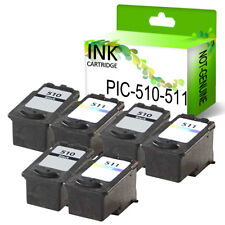 LOT Printing Pleasure Premium Ink Cartridge For Canon PG510 CL511 PG512 CL513