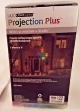 Gemmy Led Light Show Christmas Projection Plus Projector Christmas Tree Presents