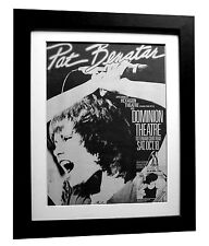 PAT BENATAR+Crimes Of Passion+POSTER+AD+RARE+ORIG 1980+FRAMED+FAST GLOBAL SHIP