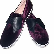 83237593217f Kate Spade Karry Casual Loafers Wine 10 US Display.  92.00 New. Kate Spade  Size 8 SNEAKERS Slip on Shoes Delise Too Bordeaux Velvet Bow