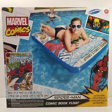 Swimways Marvel Comics Amazing Spiderman Comic Book Float Inflatable Raft - NEW