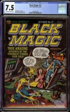 Black Magic # 17 CGC 7.5 OW/W (Prize, 1952) 2nd highest graded Jack Kirby cover