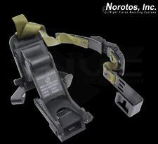 NOROTOS NVG Mount & PASGT Front Bracket Ratchet Strap Helmet Mount Assembly