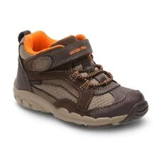 Boys' Sneakers Stride Rite Made 2 Play Clyde NIB Size 1 in Brown
