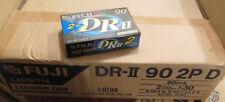 5 x 2er Pack Audio Cassetten , FUJI DR II 90 , Slim Case , NEU / OVP