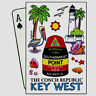 KEY WEST FLORIDA CONCH REPUBLIC COLLECTIBLE SOUVENIR PLAYING CARDS